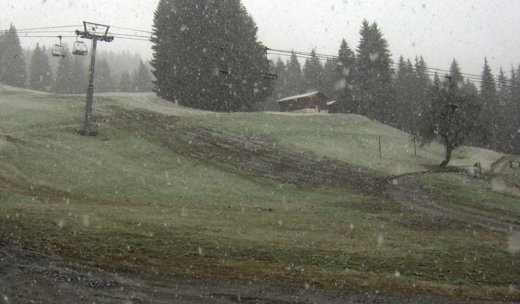 Le neige tombe en ce 5 Novembre 2014